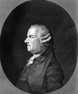 Thomas Gray, print made by R. Pollard, c.1800