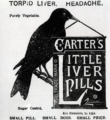 Advertisement for 'Carter's Little Liver Pills', c.1880-1900