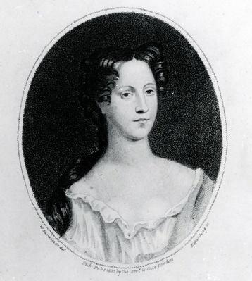 Mary Burwell, Wife of Robert Walpole, print made by W. Gardiner, 1802