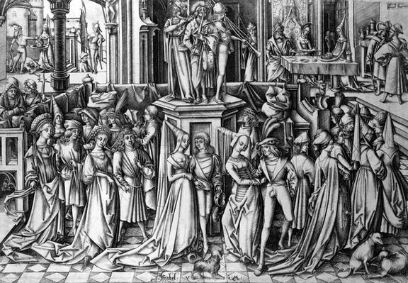 Dance at the Court of Herod, c.1500