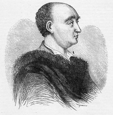 Dr Swift, Dean of St. Patrick's, illustration from John Cassell's Illustrated History of England, 1858