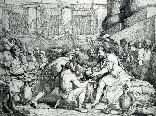 Marius receiving the head of Antonius, 1774