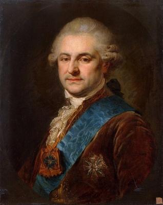 Portrait of Stanislaw II August Poniatowski