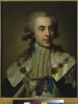 Portrait of Prince Platon Zubov, 1793