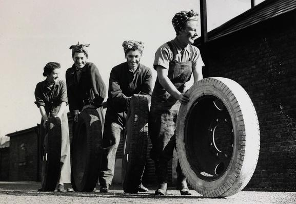 Women of the Auxiliary Territorial Transport Service   World War II