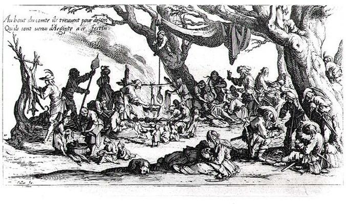 A Birth in a Gypsy Camp