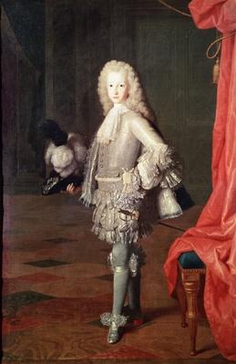 Portrait of Louis I of Spain, 1717