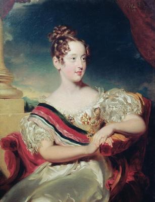 Portrait of Dona Maria II