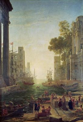 Embarkation of St. Paul at Ostia
