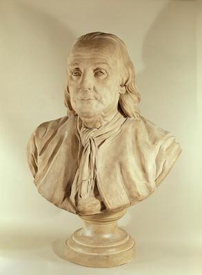 Bust of Benjamin Franklin