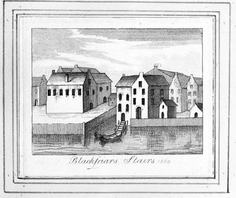 Blackfriars Stairs, 1660