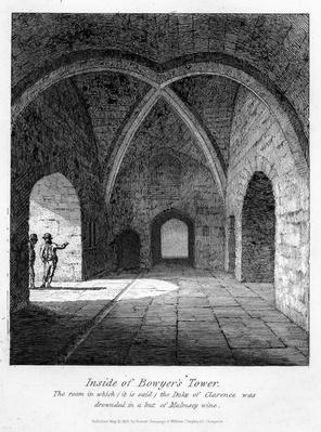 Inside of Bowyer's Tower, 1830