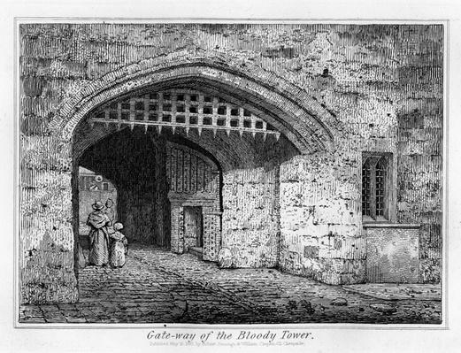 Gate-way of the Bloody Tower, 1830