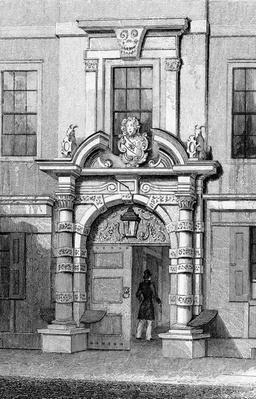 Haberdasher's Hall, Maiden Lane, c.1829-31