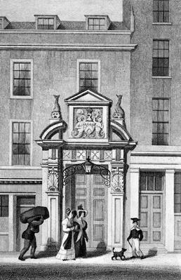 Fishmonger's Hall, Thames Street, engraved by J. Greig, c.1830