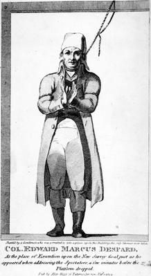 Col. Edward Marcus Despard, published 1804