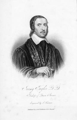 Jeremy Taylor D.D., Bishop of Down & Connor, engraved by S. Freeman