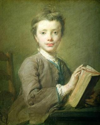 A Boy with a Book, c.1740
