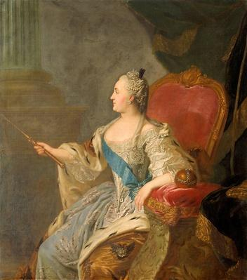 Catherine the Great, 1763