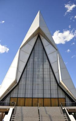 Air Force Academy Chapel, Colorado Springs | Famous American Architecture