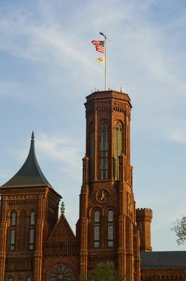 Smithsonian Castle in Washington DC, USA | Famous American Architecture