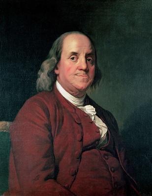 Benjamin Franklin, 1782