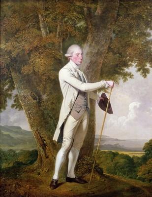 Portrait of John Milnes, 12th Duke of St. Albans