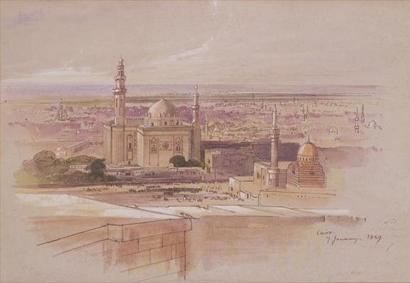 Agra Mosque, Cairo, 1849