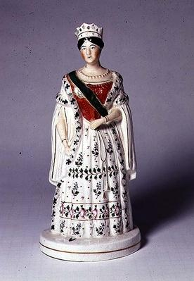 Staffordshire figure of Queen Victoria