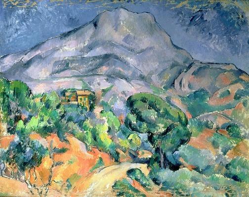 Mont Sainte-Victoire, 1900