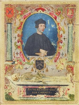 Memorial Portrait of John Colet