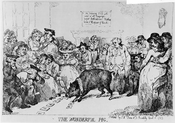 The Wonderful Pig, 1785