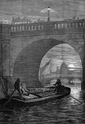 Waterloo Bridge by Night