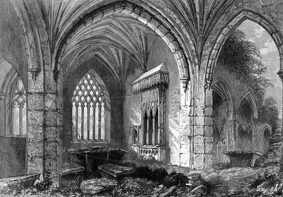 Abbey of Holy Cross, c.1841