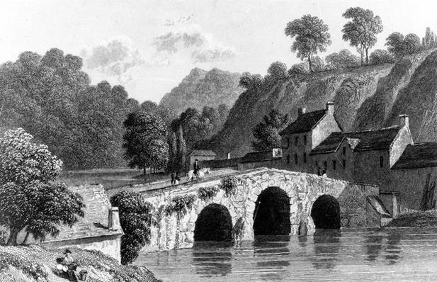 Glenmire Bridge, near Cork, engraved by E. Finden, 1832