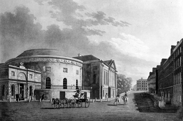 Rotunda & New Rooms, Dublin, 1795