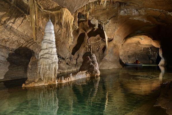 Still Water in Cave, Loz, Notranjska, Slovenia | Earth's Surface