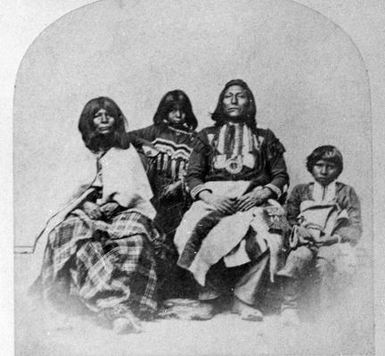 Ute Family, c.1870-75