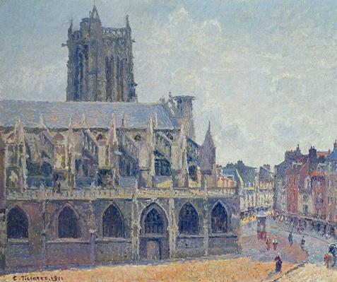 The Church of St Jacques in Dieppe, 1901