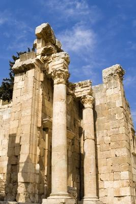 Propilaeum of Temple of Artemis, Jerash, Gerasa, Roman Decapolis City, Jordan | Ancient Civilizations