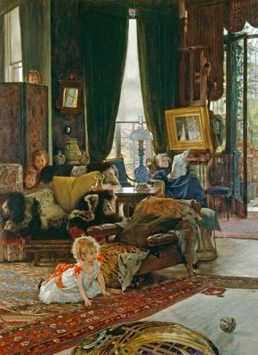 Hide and Seek, c.1887