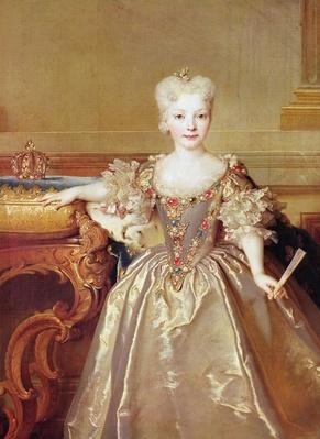 Infanta Maria Ana Victoria de Borb�n, 1724