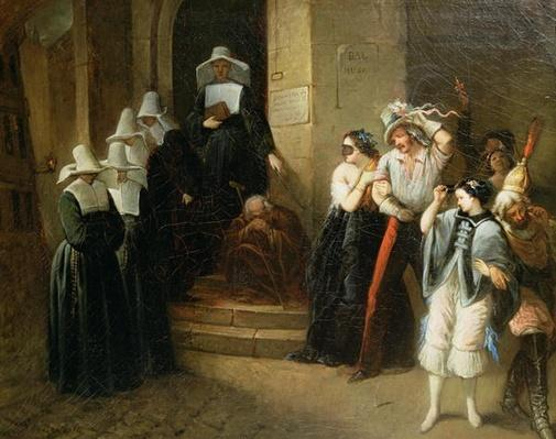 The Masked Ball, c.1870