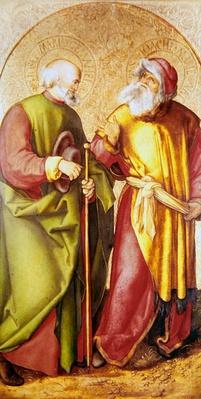 Saint Joseph and Saint Joachim, c.1503