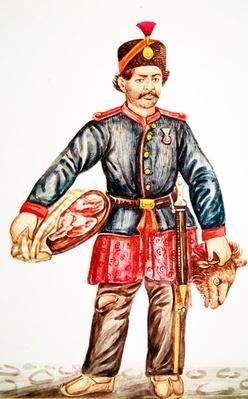Butcher in Persia