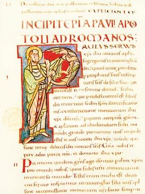Title page of Saint Paul's Letter to the Romans