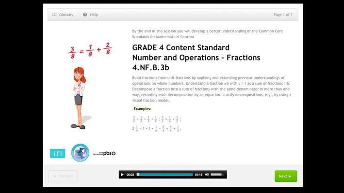 Number and Operations - Fractions - 4.NF.B.3b