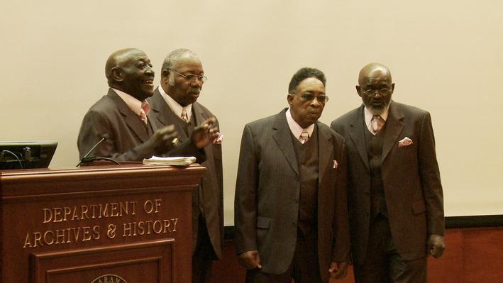 Gospel in Alabama: The Four Eagles Gospel Singers