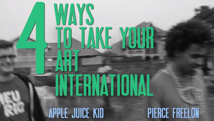 Four Ways to Take Your Art International | Beat Making Lab