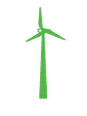 Conservation - Wind Turbine | Clipart